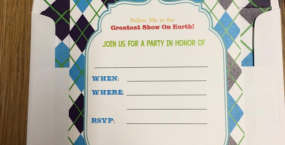 Amira design,  Diy invitations, Fill in the blank invitation, Diy party invitations,  Blank invitations,