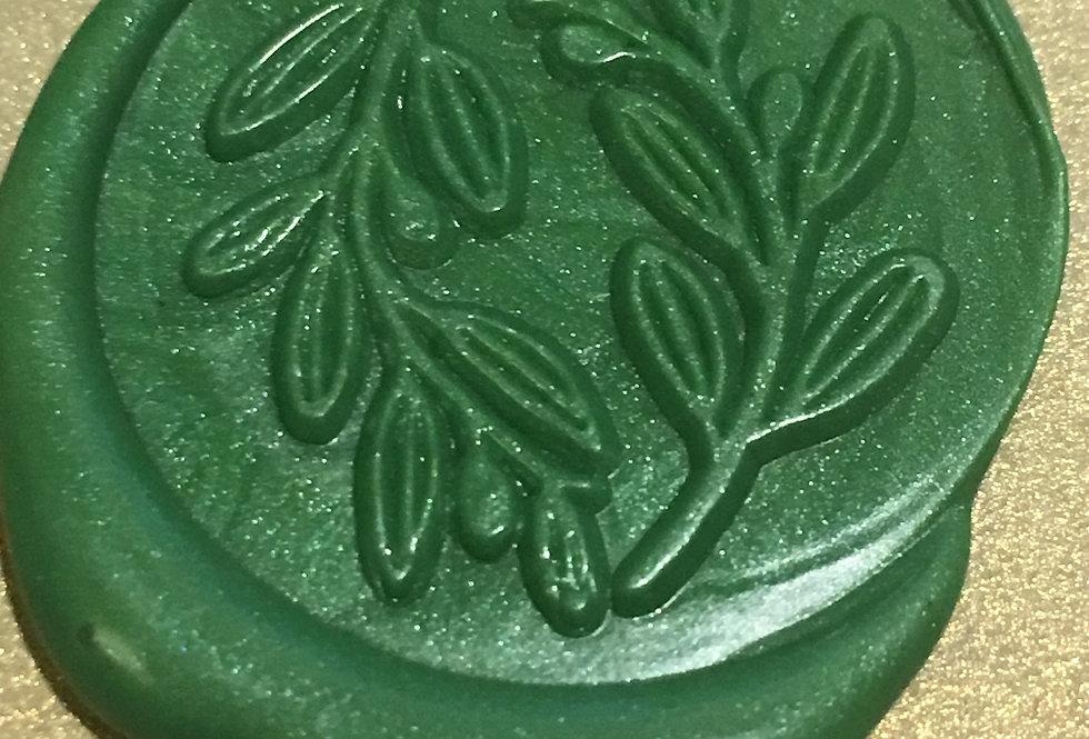 Wax Seal -Laurel Leaf