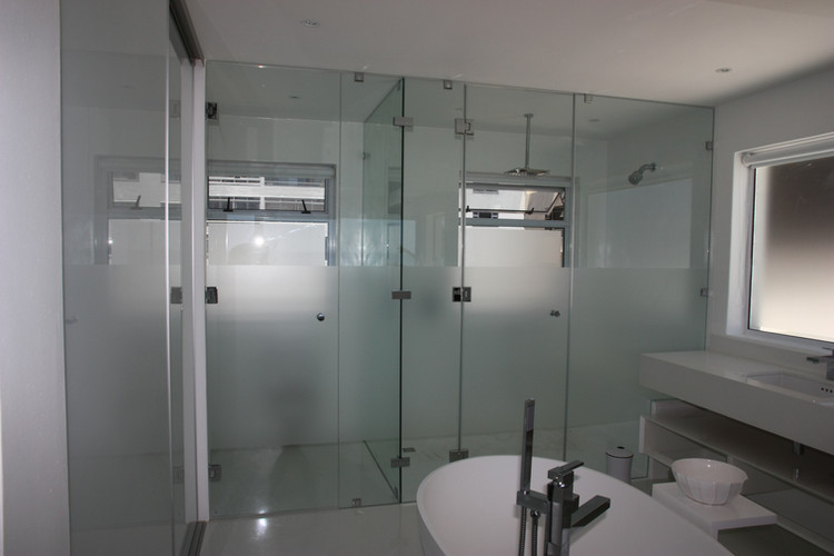 Shower and Toilet Partition