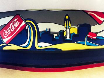 U.T. Coca-Cola Mural