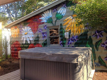 Private Garage Mural