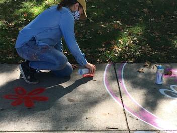 TMA Chalk Installation