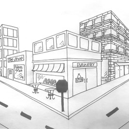 2D Perspective Drawing