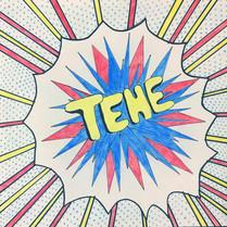 Pop-Art inspired by Roy Lichtenstein