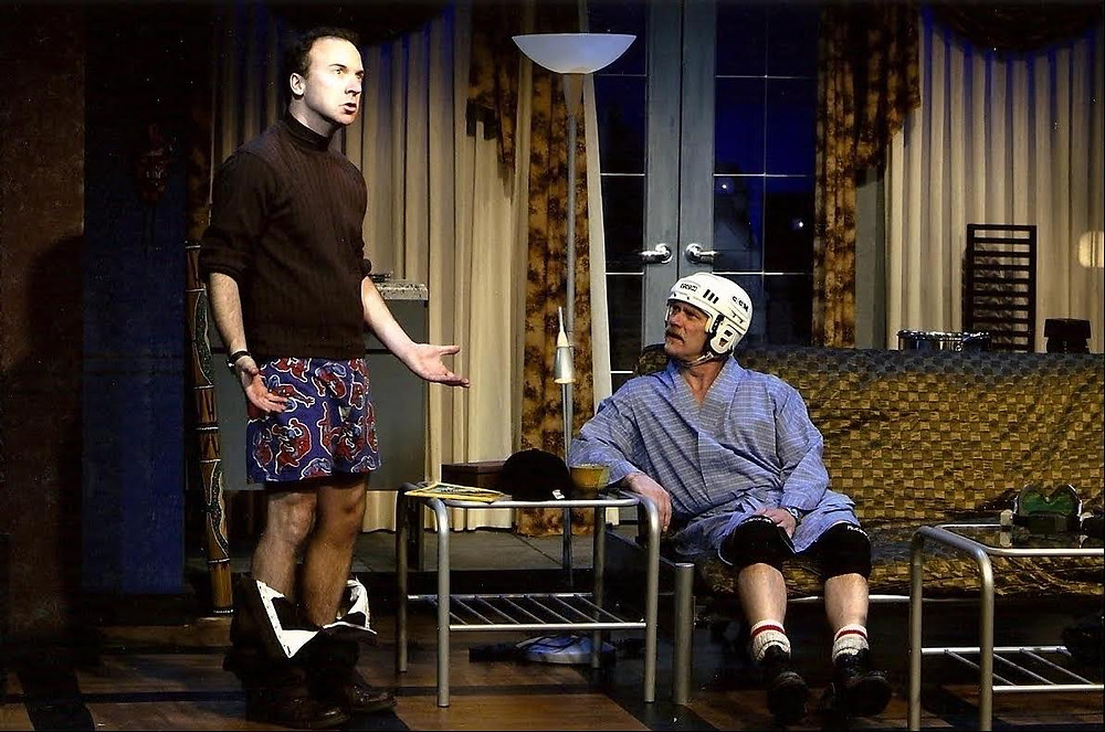 """Robert Klein and Trevor Leigh in """"Outside"""""""