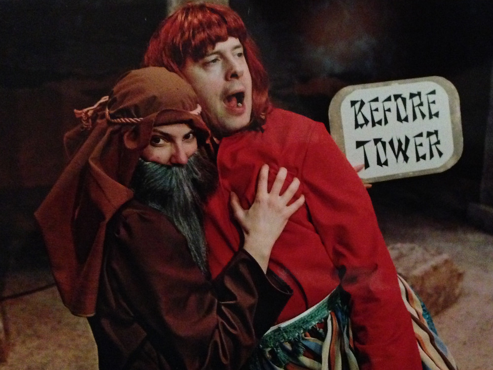 THE BIBLE: THE COMPLETE WORD OF GOD (ABRIDGED) by Adam Long, Austin Tichenor and Reed Martin. Lunchbox Theatre, 2002 Christopher Hunt & Barbara Gates Wilson. Directed by Bartley Bard.