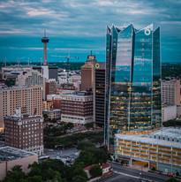 Frost Tower and Tower of the Americas