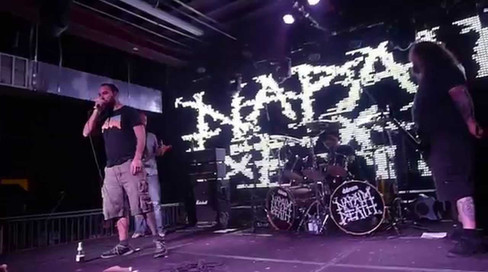 Napalm Death - Stubborn Stains (& marriage proposal) - 1/27/15