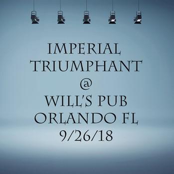 Imperial Triumphant - 9/26/18