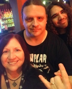 "George ""Corpsegrinder"" Fisher (Cannibal Corpse) & Adam Mehdaova (Wirethrone) 1/28/20"