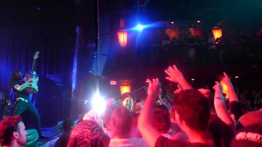 Iron Reagan - clip of Tony Foresta crowdsurfing - 11/4/13