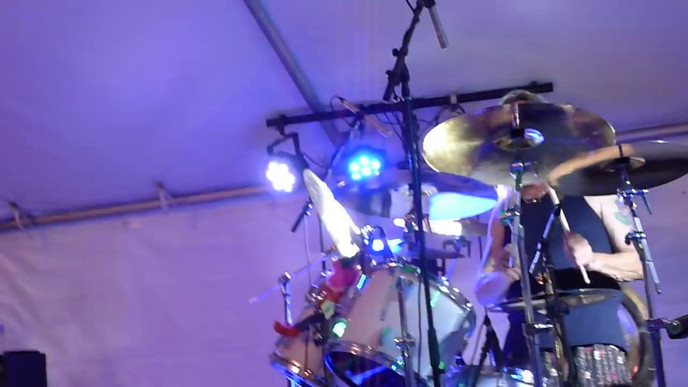 McBrainiacs (w/ Nicko McBrain) - Hallowed Be Thy Name (drum cam) - 12/10/16