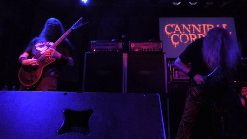 Cannibal Corpse - Skull Full Of Maggots - 7/23/16