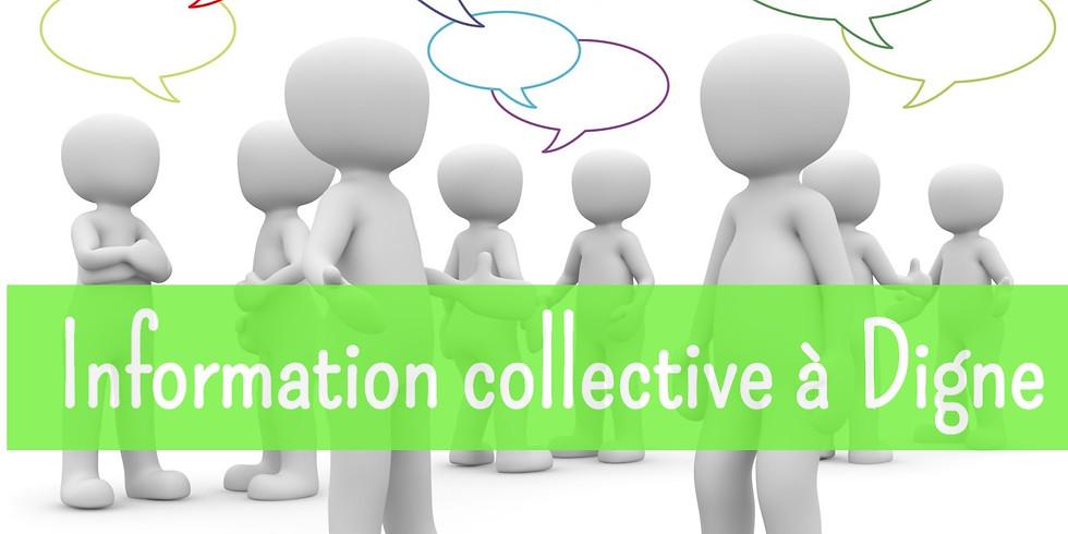 Information collective à Digne