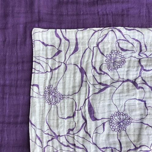 Embrace Bouquet/Amethyst TWIN Blanket