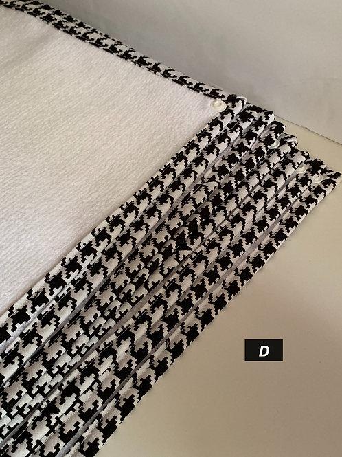 Reusable Paper Towels (D - Black/White)