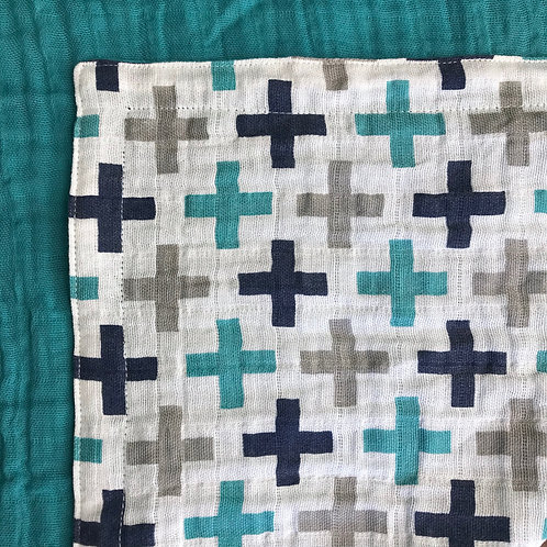 Embrace A+/Teal TWIN Blanket