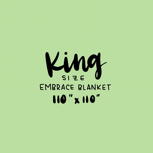 DYO: KING gauze Blanket