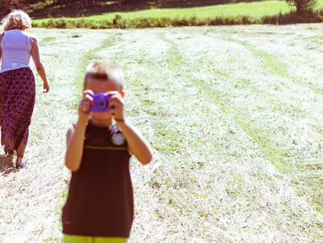 Ateliers photographie des petits à la faisanderie Fontainebleau