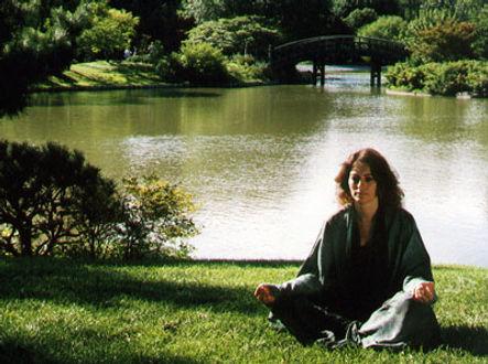 Susan Brockmeier meditation by lake