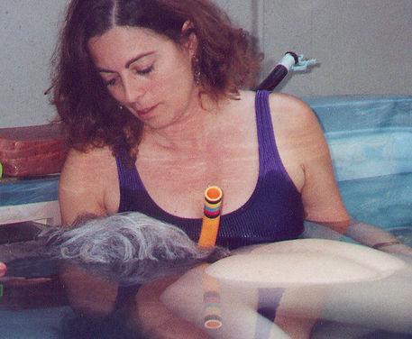 Rebirthing Susan Brockmeier water support