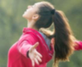Transformational breath deep breath nature