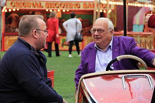 Roy Hudd With Dodgem Car Inventor.jpg