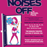 Noises Off Show Poster