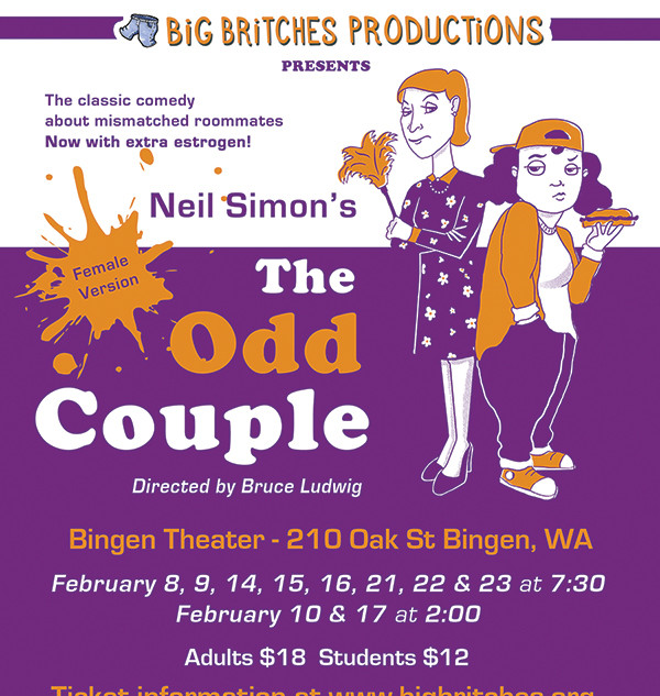 Odd Couple Show Poster