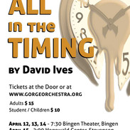 All in the Timing Show Poster