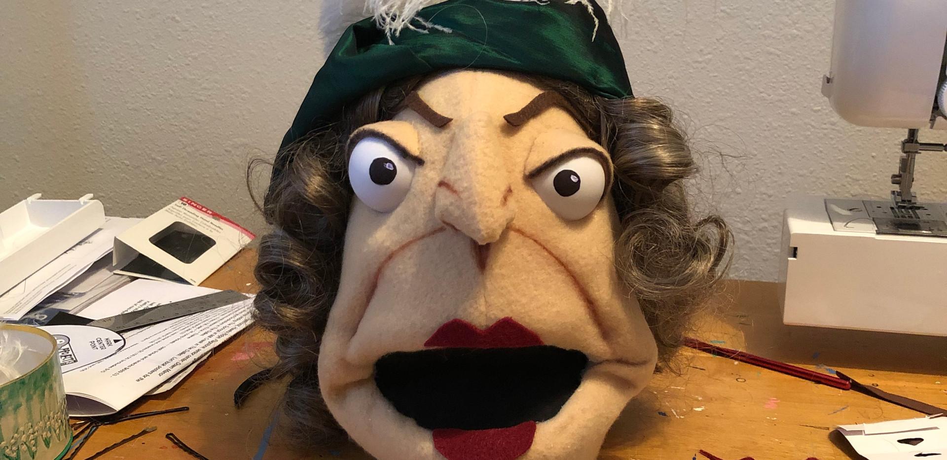 Mrs Ferrar's disembodied head