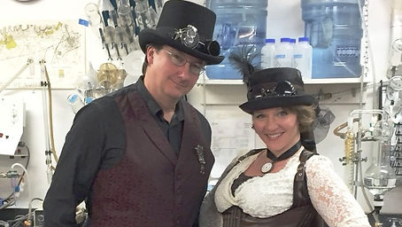 StemPunx Hosts: Joe Garoutte and April Sampson