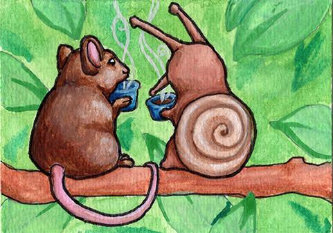Coffee Snail
