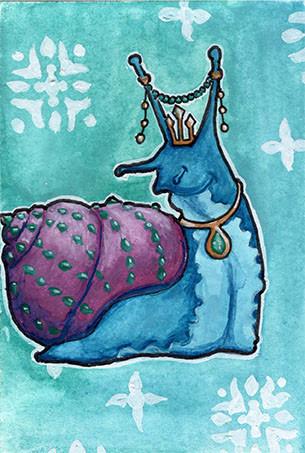 Jeweled Snail