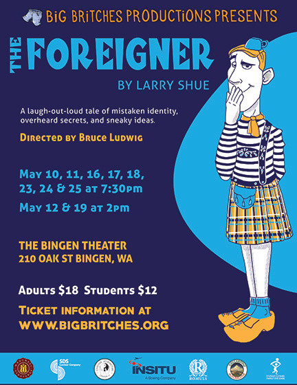The Foreigner Show Poster