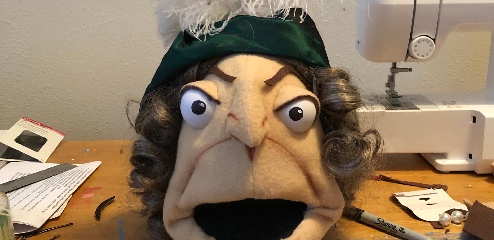 Mrs. Ferrar's bitter beer face