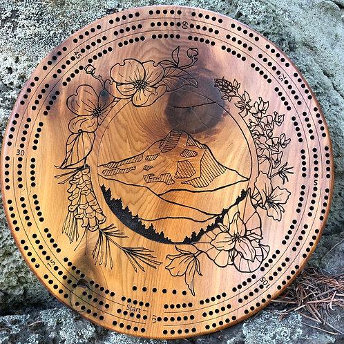 Custom Designed Cribbage Boards