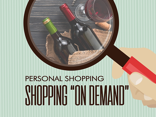 Personal Shopping - ON DEMAND