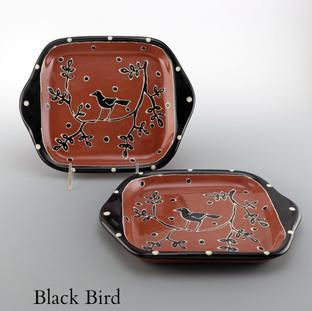 Black Bird Pattern