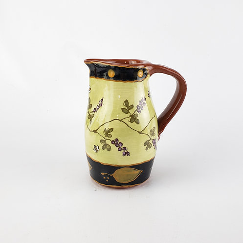 Huckleberries and Bees Small Pitcher