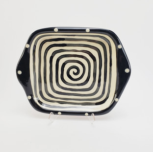 Spiral Square Tray