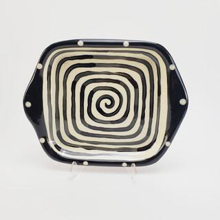 Spiral Square Tray