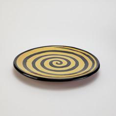 Yellow Confetti 10.5 inch dinner plate