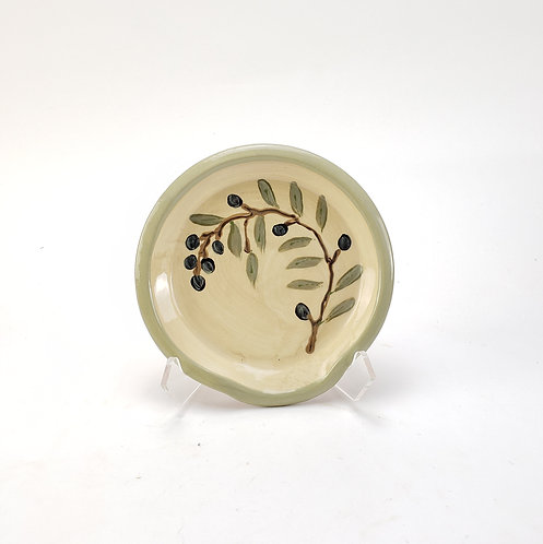 Olive Branch Spoon Rest
