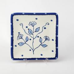 New Delft Square Plate