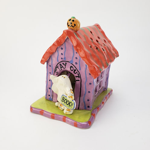 Spooky Ghost Night Light House