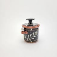 Flora Sugar Jar