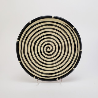 Spiral Dinner Plate 10.5 inches