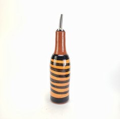 Orange Confetti oil bottle