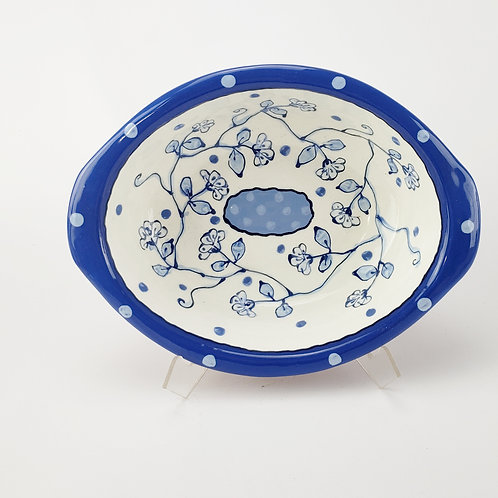 New Delft Oval Baking / Serving Dish